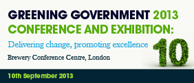 Greening Government 2013: - Delivering change, promoting excellence